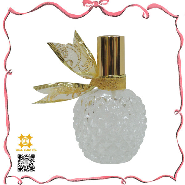 Love story bride gift eau de parfum glass customized bottle