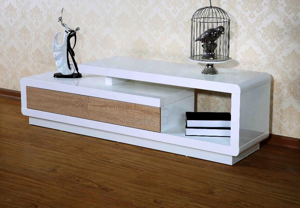 SUMJOY Moderne Schmiedeeisen Tv Ständer Holz Tv Rack Konstruktionen