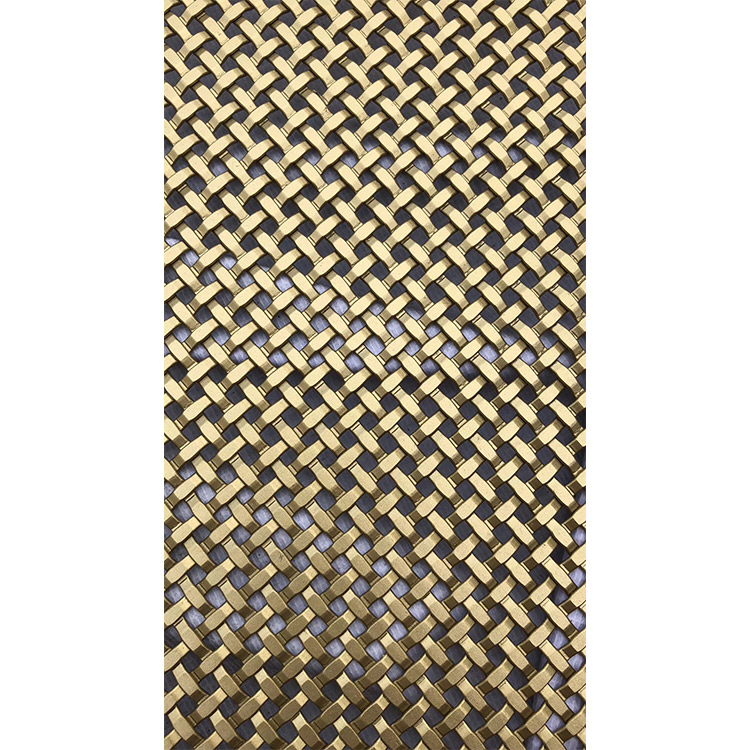 304 316 316Lstainless steel flat woven ceiling drapery ,indoor partition ,outdoor screen decorative wire mesh