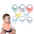 Drooling and Teething Gift Set For Girls Jewel Set Drooling Baby Bandana Drool Bibs