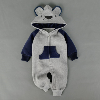 702326b3f Sev.wen Baby Clothing Fox Bear Rompers Newborns Body Suit Kid ...