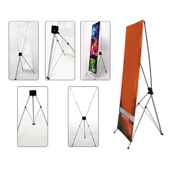 Factory Manufacture Standing Outdoor Advertising Equipment X Frame ...