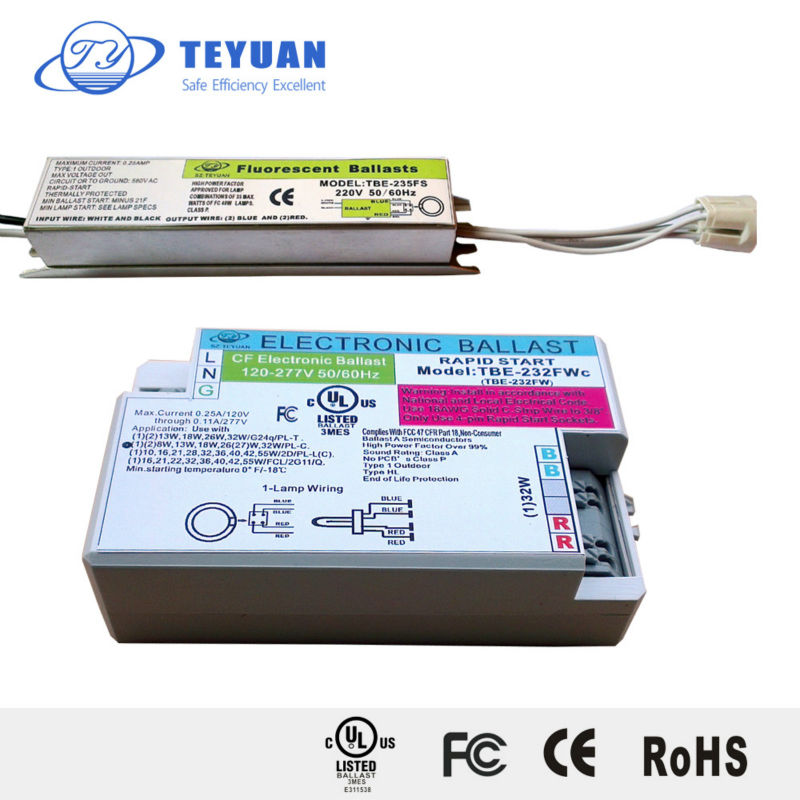 T5 Electronic Ballast for 32W Circular Lamp UL Listed