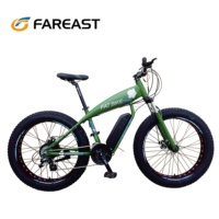 Electric fat tire bike full suspension bicycle for sale