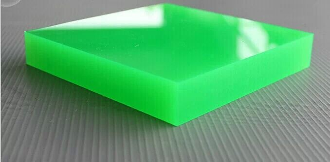 Wholesale Green Color Mma Cast Acrylic Sheet/color Perspex Sheet/low ...
