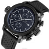 Best Selling Men's Top Brand Skone Chronograph Silicone Watches Men sport watch