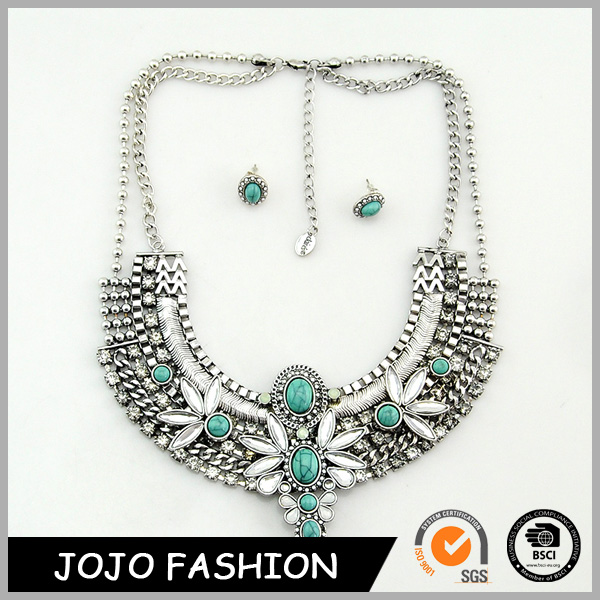Hot selling women new design apparel accessories fashion handwork jewelry necklace