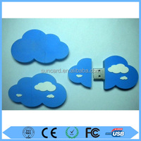 Free sample cloud shape usb stick