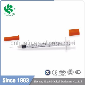 New Products Factory Manufactured single-use insulin syringe 5 ml