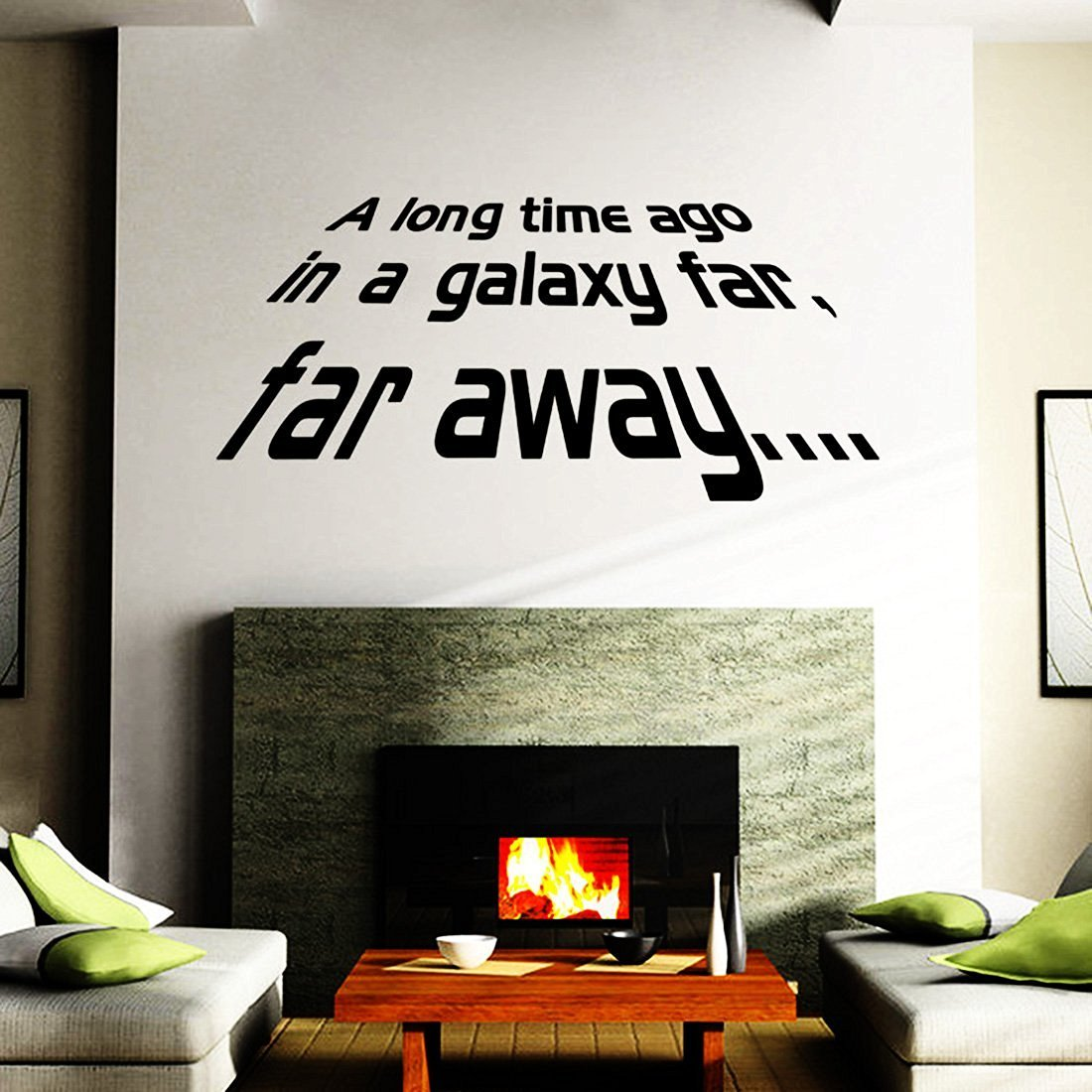 Buy A Long Time Ago In A Galaxy Far Far Away Sale Star Wars Themed Vinyl Wall Decal 10x12 Black In Cheap Price On Alibaba Com