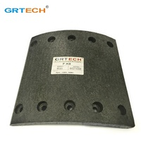 High quality e-marked truck drum brake lining for Europe market
