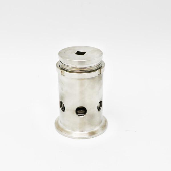 Hygiënische cirkelvormige mangat druk tank putdeksel met kijkglas
