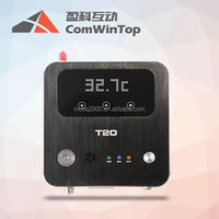 gsm temperature controller for real time data logger via wi-fi or gprs