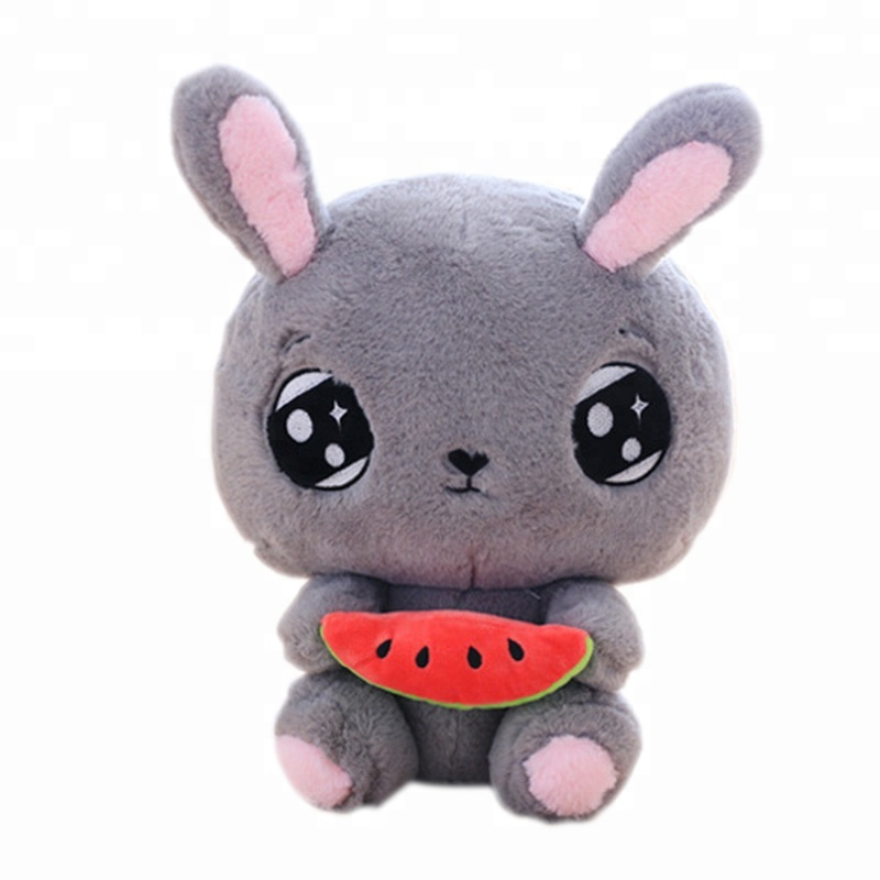 Cute Plush Animal Keychain Pendant Lovely Rabbit Frog Anime Accessory Superior Quality In