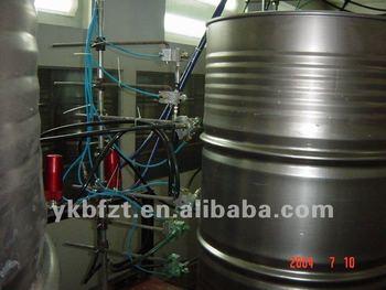 paint spraying machine for metal drum production line or steel barrel production line 220l or. Black Bedroom Furniture Sets. Home Design Ideas