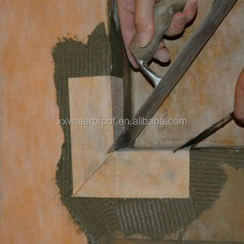 0.8mm Shower Wall Liner Corners For Thin Set Mortar, Ceramic And Stone Tile