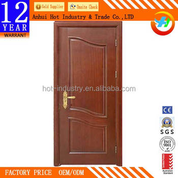 Right Outside French Interior Doors High Quality Solid Wood Front