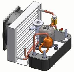 Small Dc Inverter Compressor Refrigerator Compressor 12v Rl27d12h ...