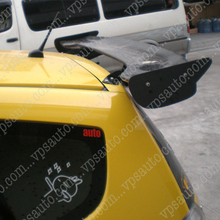 Car Styling For Honda Fit Jazz Tail Carbon Fiber Rear JS Style Spoiler 2009
