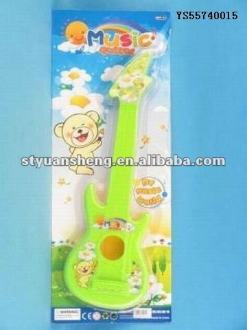 Promotional plastic mini toy guitar