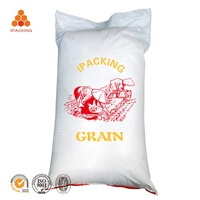 china factory direct supply bopp long grain rice bag packaging