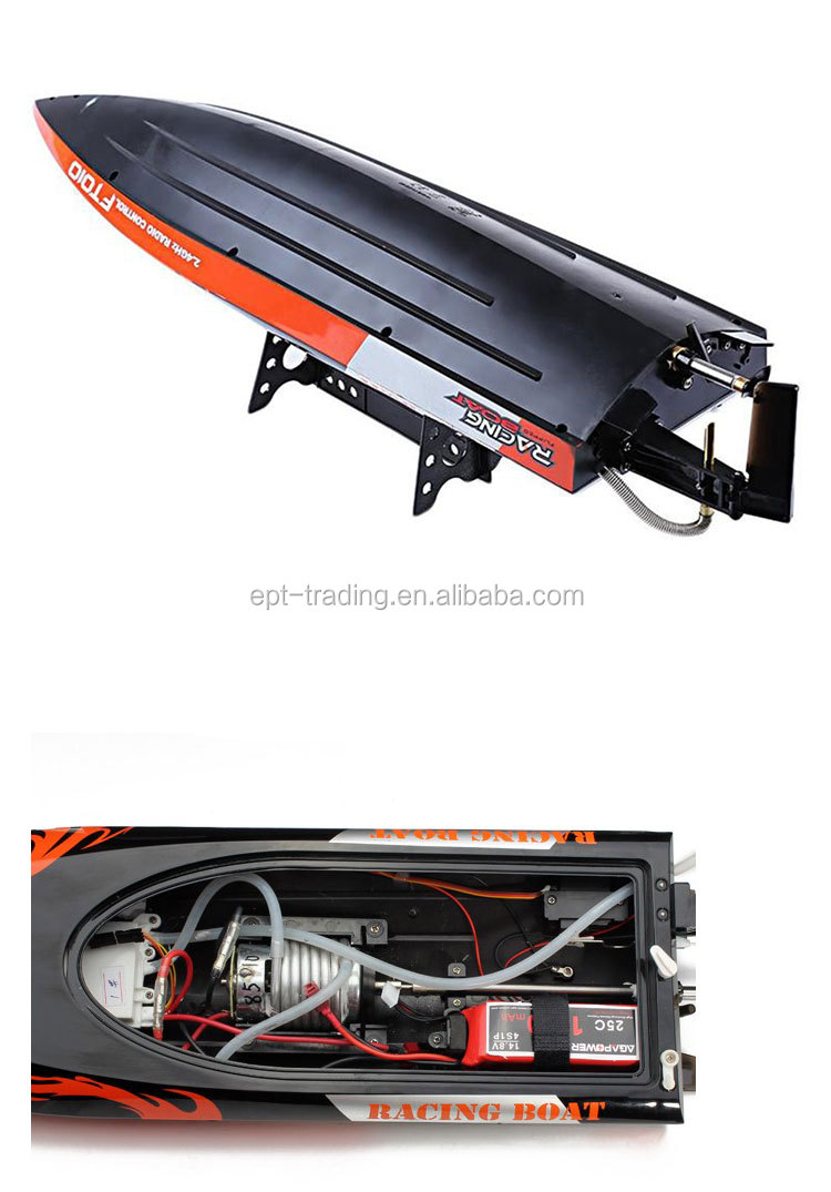 Hot selling 2.4G water cooling high speed rc model boat yacht propel rc toy for sale.jpg