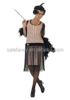Womens Plus Size 1920s Coco Flapper Costumes Adult Dress Qwac-2626 - Buy  Flapper Costumes Adult,Flapper Dress,Flapper Costume Product on Alibaba.com