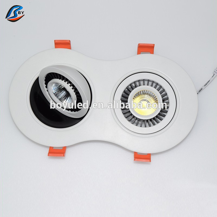 Recessed lights square round Led COB downlight 110v 220v Spot led luminarias Ceiling Lamps