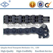 LL3266 Standard pitch 50.8mm 6*6 industrial elevator lifting leaf chain