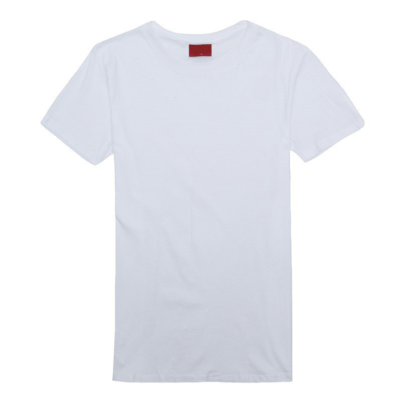 Custom print 100% cotton short sleeve round neck men's plain blank white cotton t <strong>shirts</strong>