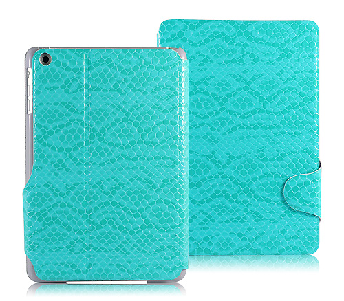 Transparent case cover factory High quality PU leather case for iPad with Stand function and hard PC Back cover