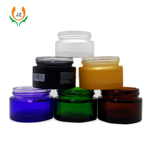 30ml 50ml 100ml glass cosmetic jar packaging