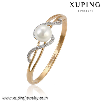 51573 Xuping Simple Gold Models Design Multicolor Copper Alloy