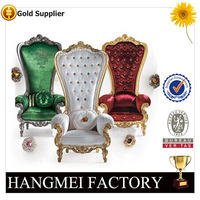 2016 High Back Throne King Queen Chairs Use for Planning Events