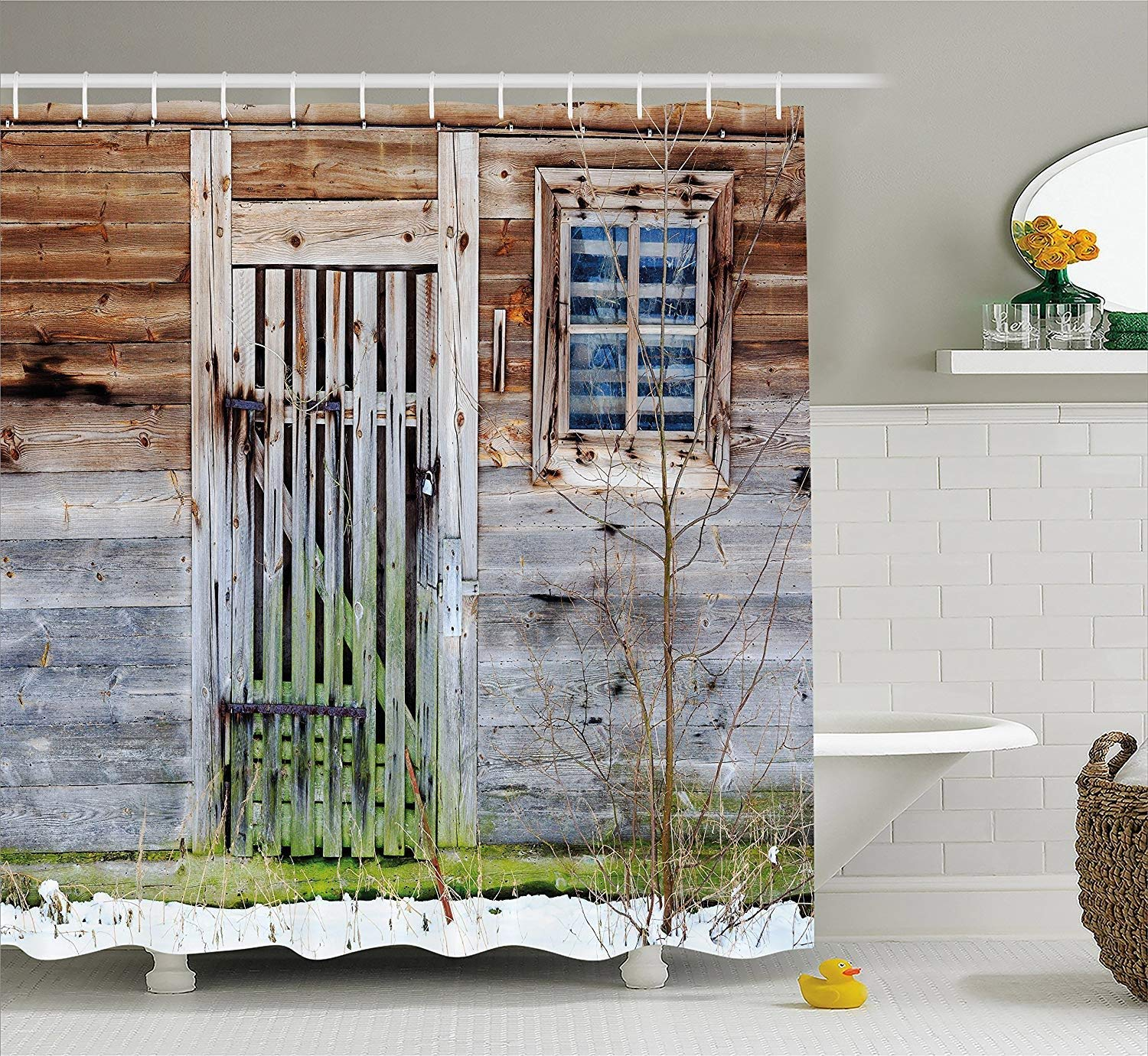 Buy Primitive Farmhouse Over The Toilet Table Country