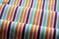 New design 100% cotton yarn dyed stripe poplin shirt