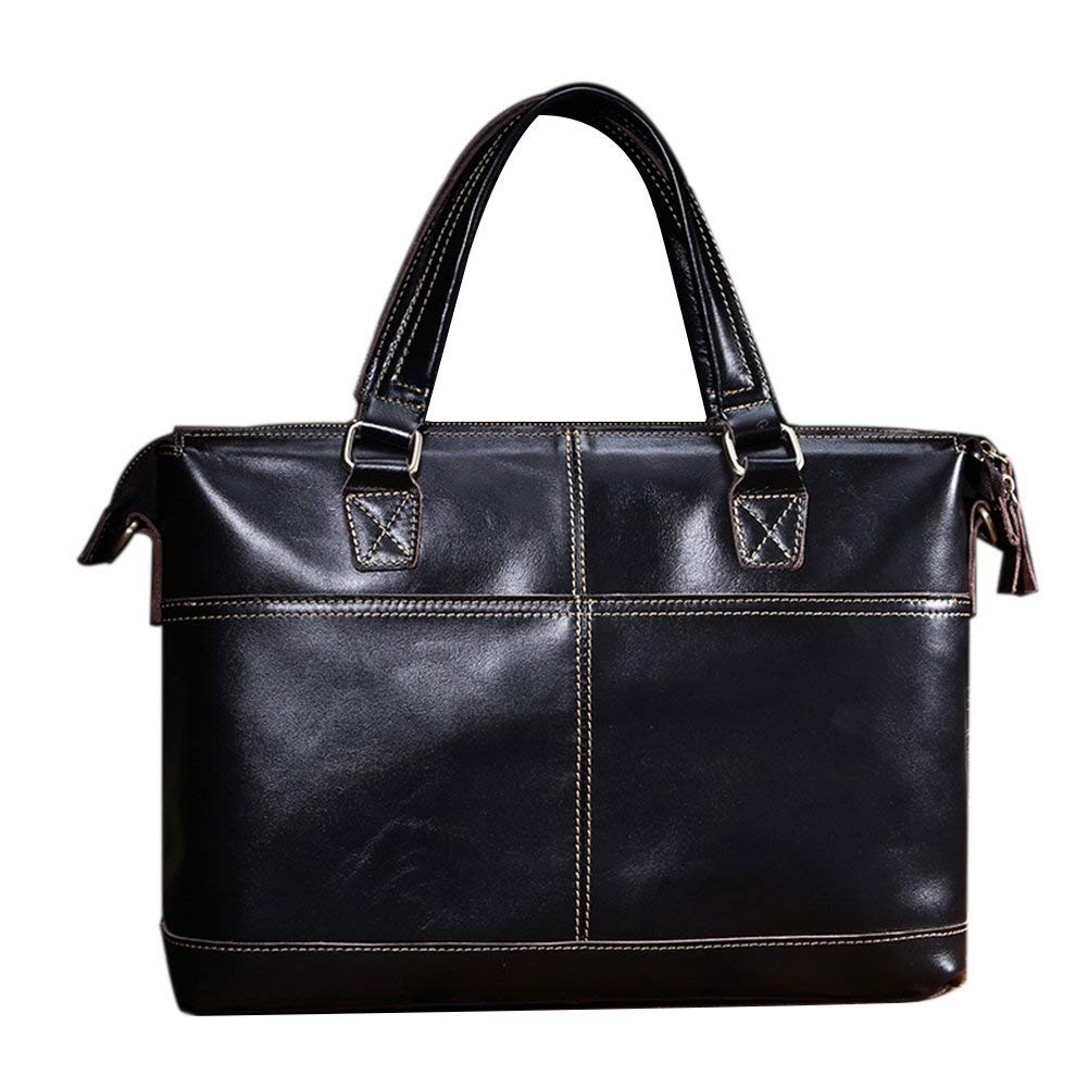 0c9bb02d40 Get Quotations · Genda 2Archer Mens s Genuine Leather Laptop Bag Business  Briefcase Tote Office Bag