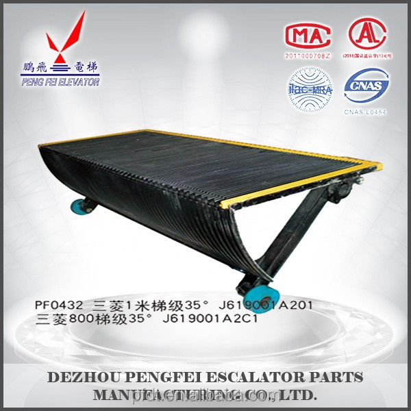 J619001A201 elevator 1000mm step plate-step tread use for elevator with high quality