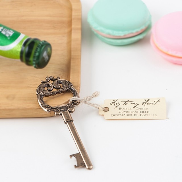 Classical wedding door gift key bottle opener return gifts & Buy Cheap China door gift business Products Find China door gift ... pezcame.com