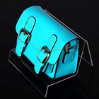 High transparency acrylic bag display stand 100 pieces with polishing