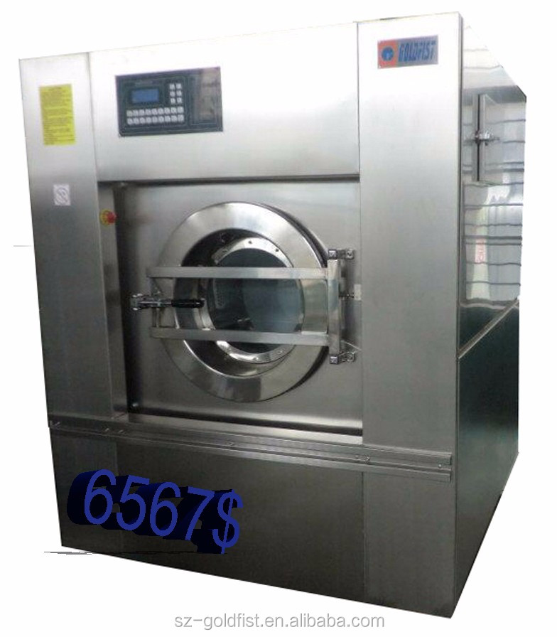 100kg commercial washing machine, fully automatic laundry machine ,used commercial laundry washing machines