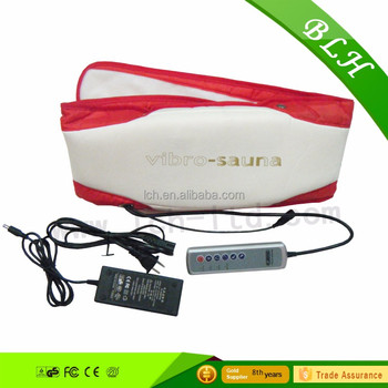 Multifunctional Vibrating Massage Belt Mini Electric Slimming Massage Fitness Belt