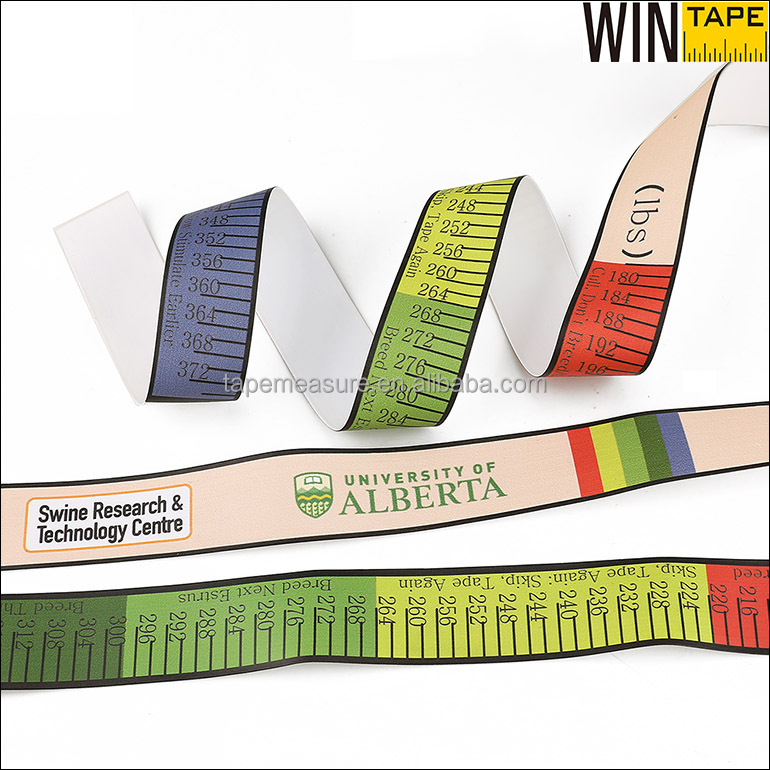 Pig Livestock Tape Measure Color For Animal Weight Height Measurement