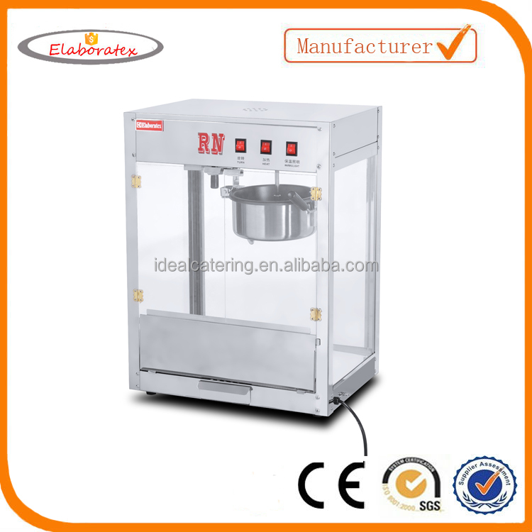 industrial popcorn machine maker and popcorn machine