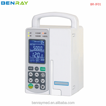 Br-if01 Portable Lcd Display Single-channel Portable Infusion Pump Iv Pump  Brands Famous - Buy Portable Infusion Pumps,Infusion Pump,Iv Pump Brands