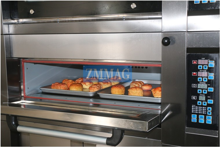 high quality mini proofer with gas oven