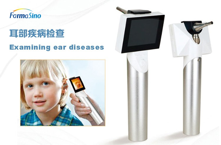 Flexible Video Otoscope Veterinary Endoscope Video ENT Medical Endoscope Camera For Dog And Cat
