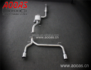 Manufacturer Steel Exhaust Muffler For Ford Exhaust Catalytic Converter