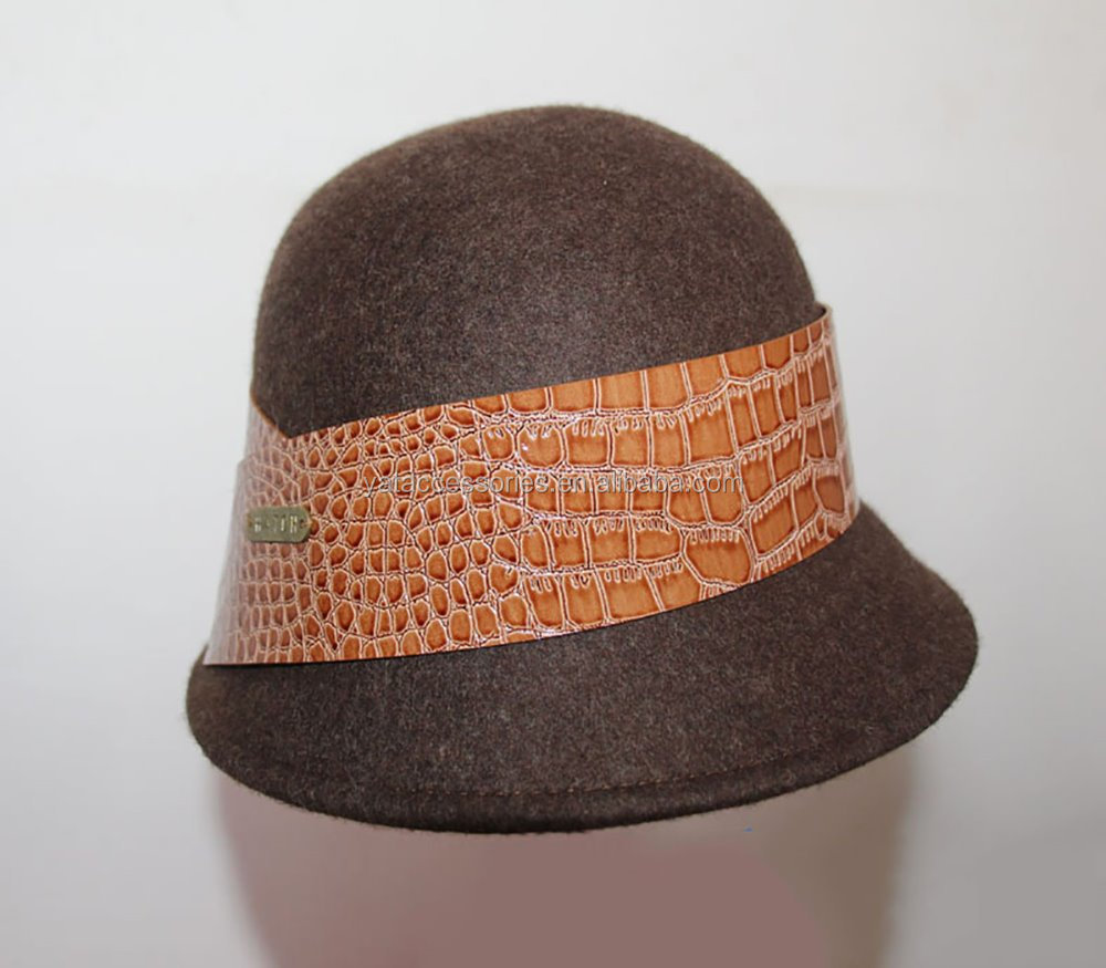 e0643019 China Brown Cloche Hat, China Brown Cloche Hat Manufacturers and Suppliers  on Alibaba.com