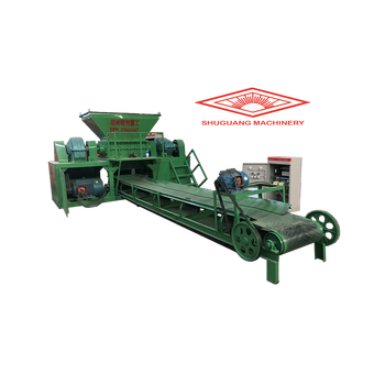 Industrial paper shredder machine / glass crusher machine for sale